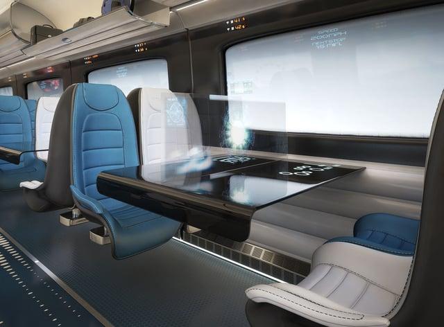 Hitachi Class 800 train