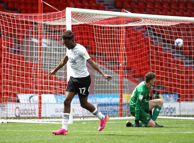 Ricky Jade-Jones found the net for Peterborough
