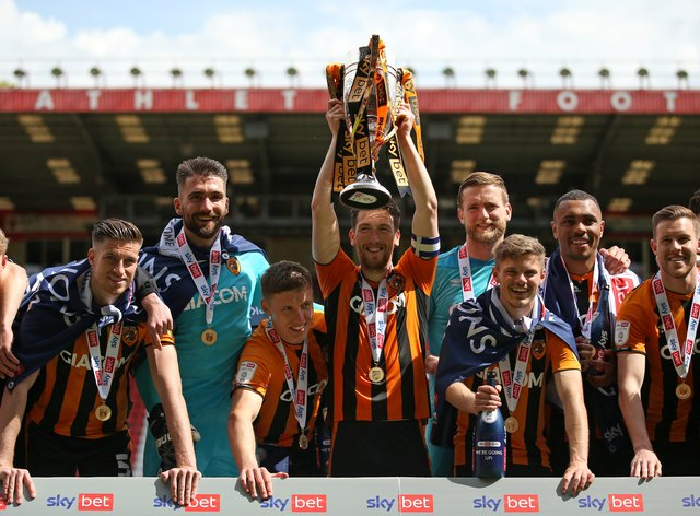 Hull got their hands on the trophy