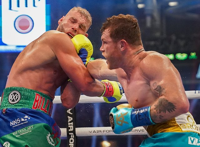 Billy Joe Saunders suffered the first defeat of his professional career on Saturday night