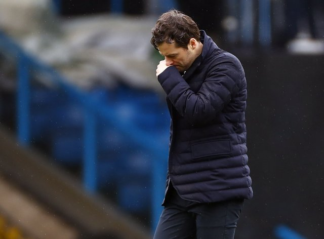 Ryan Mason lost his first league game in charge as Spurs' interim boss at Leeds