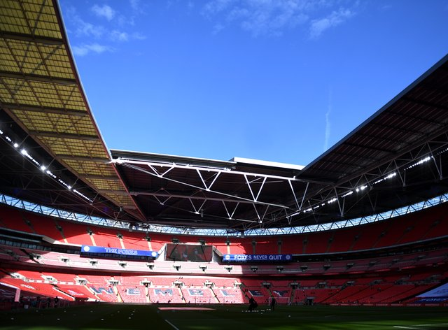 Wembley could host the Champions League final later this month