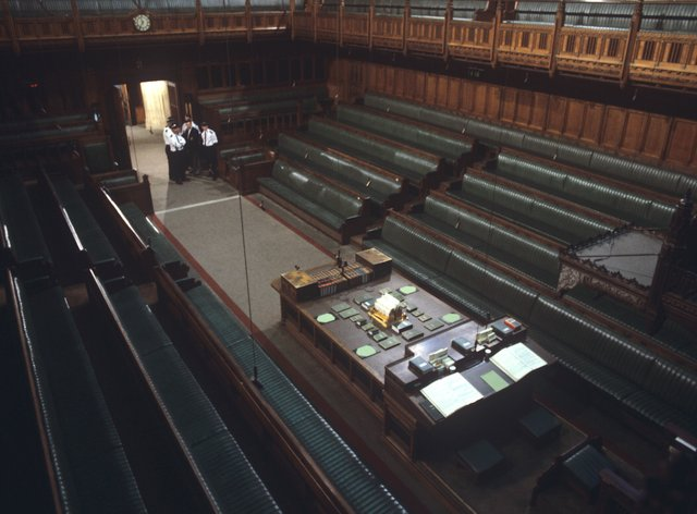 The chamber of the House of Commons (PA)