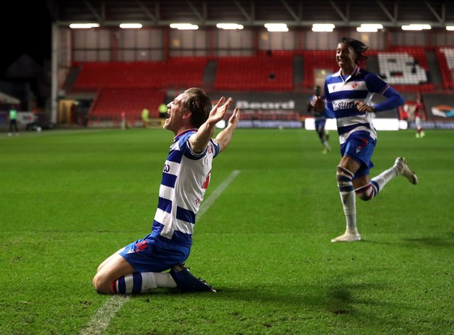 Michael Morrison, left, has agreed a contract extension with Reading