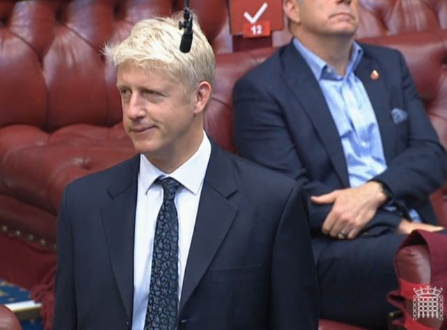 Jo Johnson takes seat in Lords