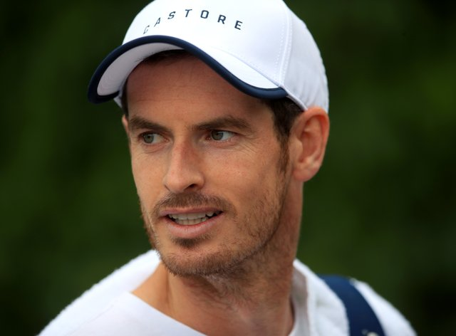 Andy Murray was victorious on his return to the court