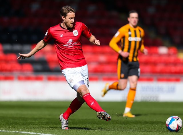 Olly Lancashire, left, has been released by Crewe