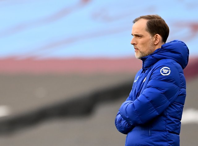 Thomas Tuchel, pictured, has guided Chelsea to both the FA Cup and Champions League finals
