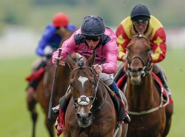 Spanish Mission and William Buick won the Matchbook Yorkshire Cup