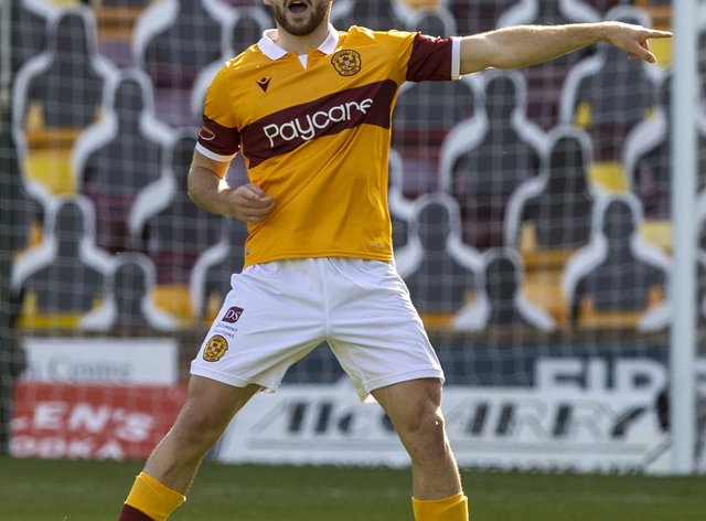 Motherwell's Allan Campbell has an ankle injury