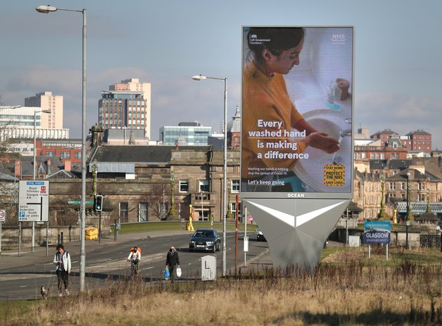 Level 3 coronavirus restrictions will remain in place in Glasgow and Moray for a further week