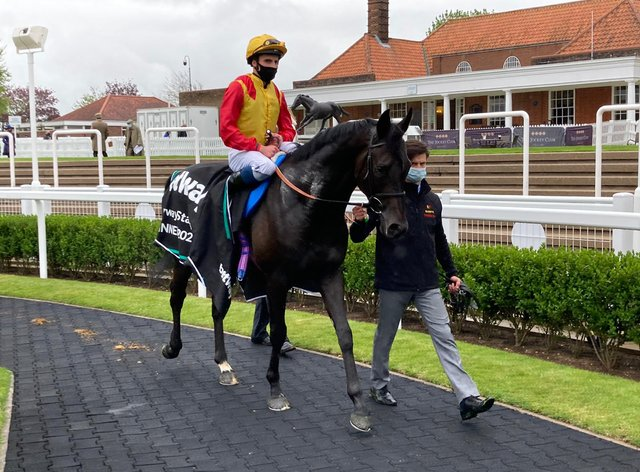 John Leeper booked his Derby ticket at Newmarket