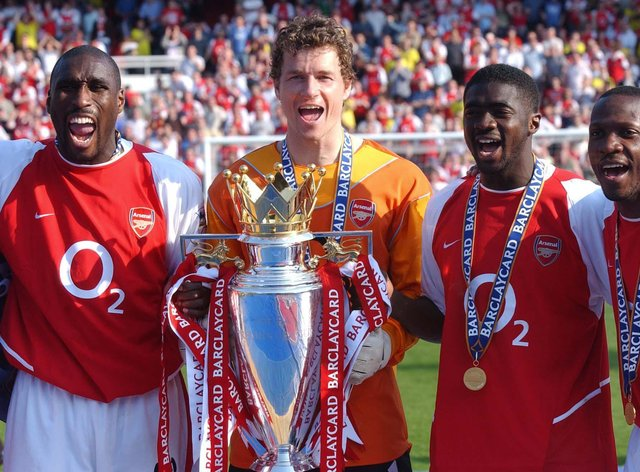 Arsenal went unbeaten in the league in the 2003–04 season