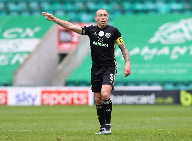 Celtic's Scott Brown has played his last game for the club