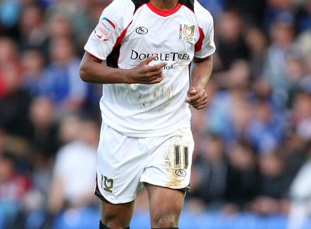 Angelo Balanta scored the final goal for Dagenham and Redbridge