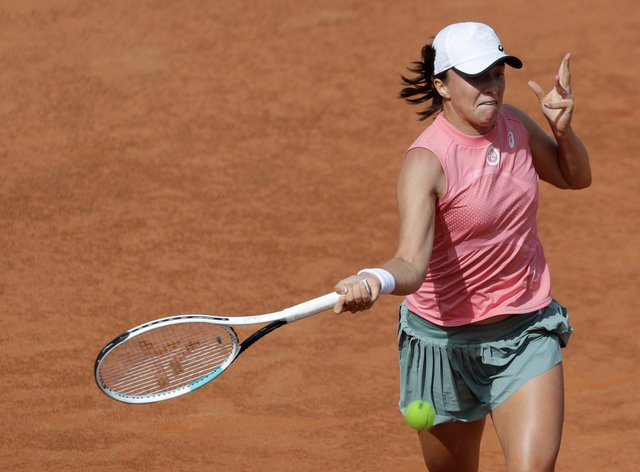 Iga Swiatek defeated Coco Gauff in her second match of the day in Rome