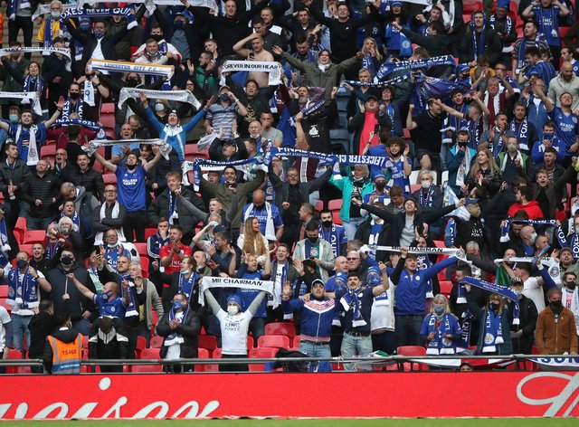 Leicester's first FA Cup final since the 60s ended in victory (Matt Childs/PA)