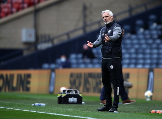 St Mirren manager Jim Goodwin is delighted with his side's seventh place finish in the Scottish Premiership
