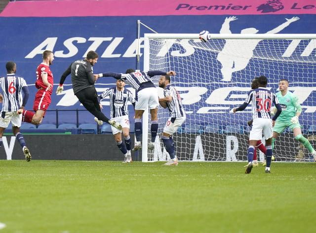 Liverpool goalkeeper Alisson scores a dramatic late winner