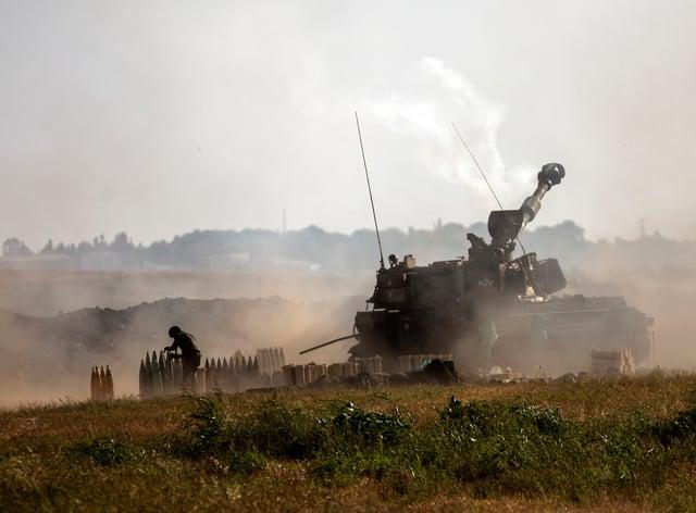 An artillery unit
