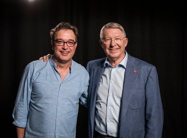 Jason Ferguson has directed a film about his father Sir Alex Ferguson
