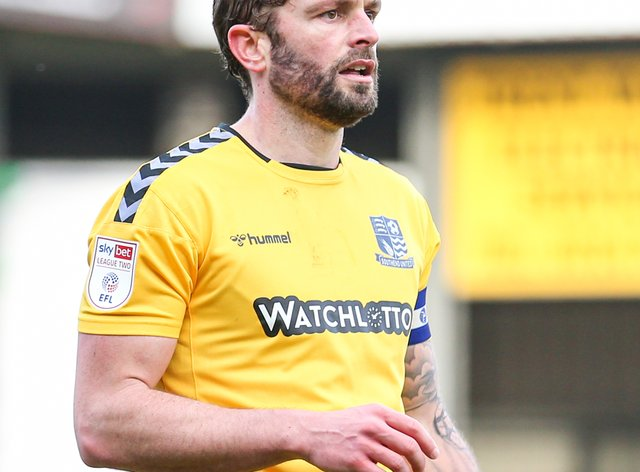 John White in action for Southend