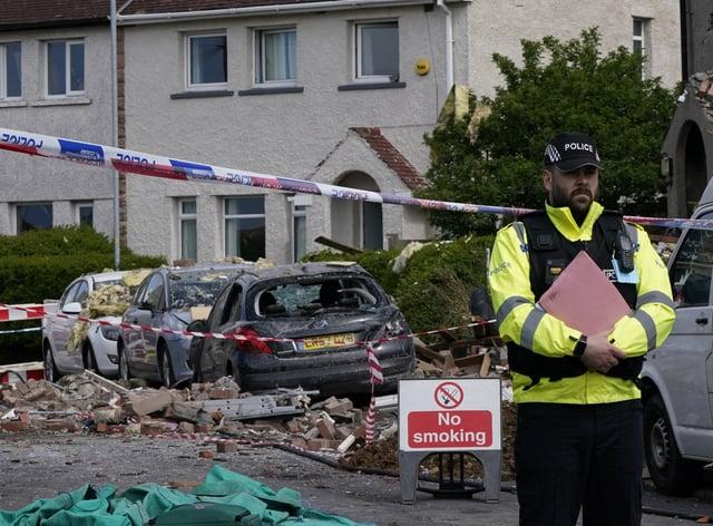 Heysham blast – Lancashire