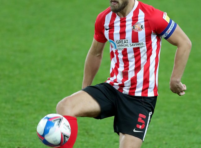 Sunderland's Bailey Wright is due to become a father on the day of the League One play-off final