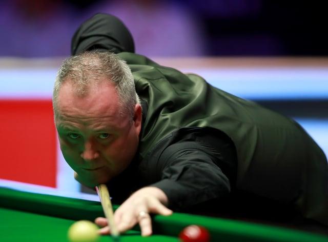 John Higgins in action