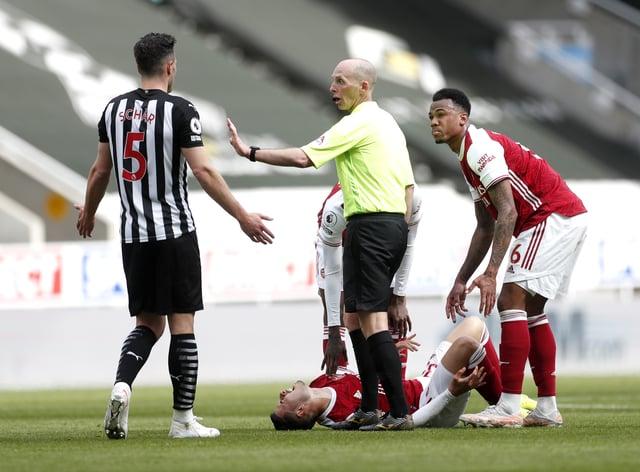 Newcastle defender Fabian Schar (left) completes his three-match ban as Sheffield United visit St James' Park