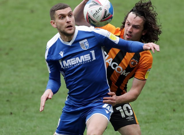 Stuart O'Keefe has signed a new deal with Gillingham