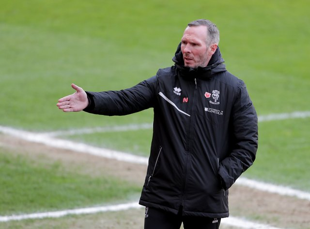 Lincoln manager Michael Appleton has options ahead of the League One play-off showdown with Sunderland