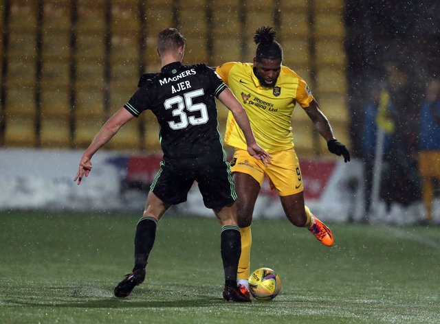 Jay Emmanuel-Thomas (right)moves from Livingston to Aberdeen