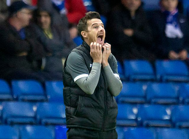 Barry Ferguson's Kelty Hearts take narrow lead to Brechin for play-off second leg