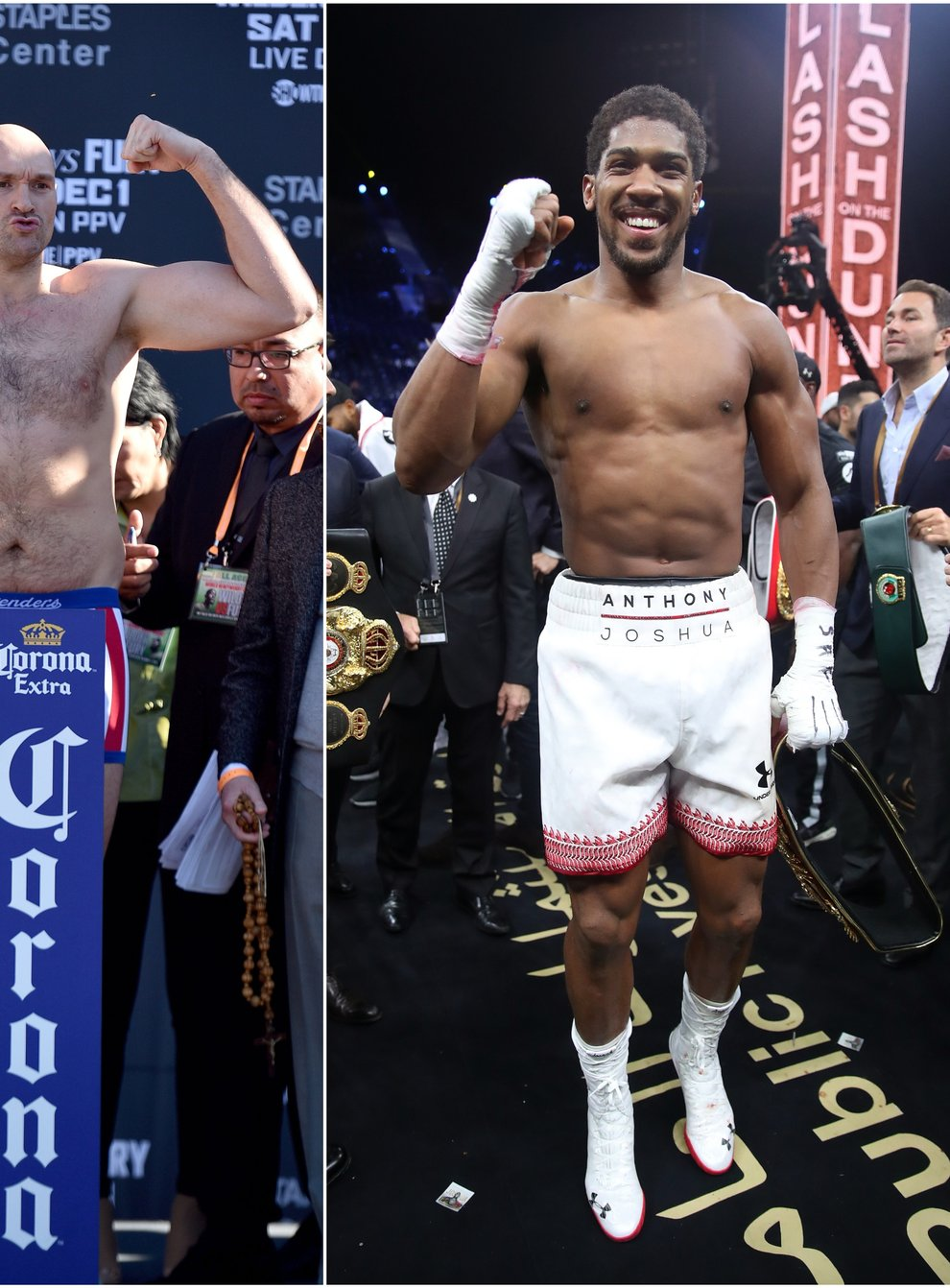 Anthony Joshua and Tyson Fury have a date confirmed for their heavyweight showdown
