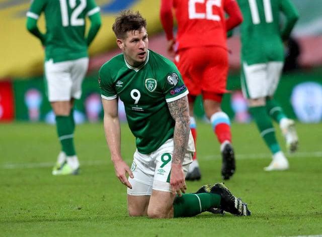 Republic of Ireland striker James Collins