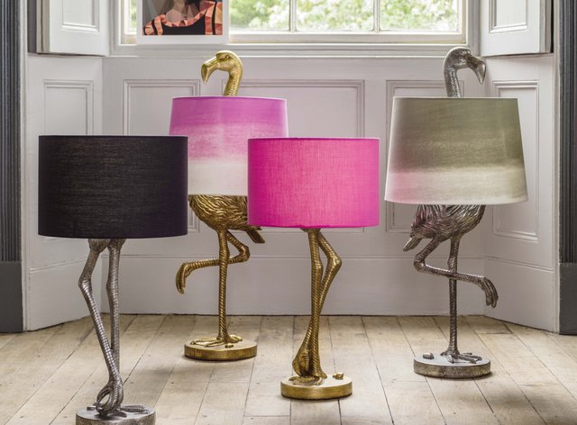 Flamingo Lamps from Graham & Green