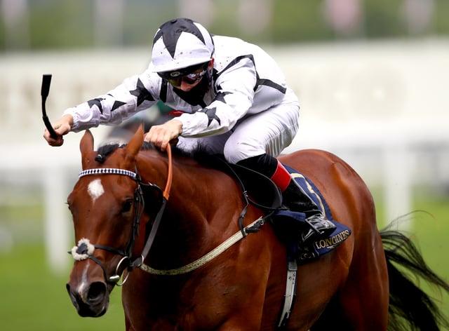 Dandalla winning the Albany Stakes at Royal Ascot