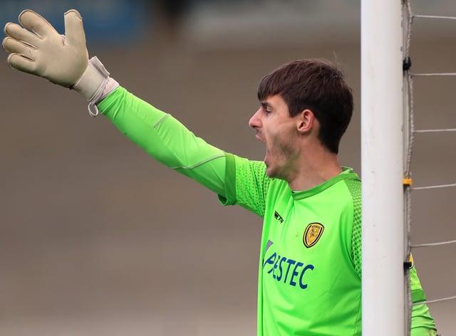 Burton goalkeeper Ben Garratt