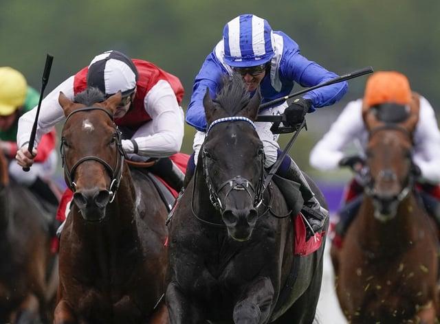 Mostahdaf won the Heron Stakes at Sandown