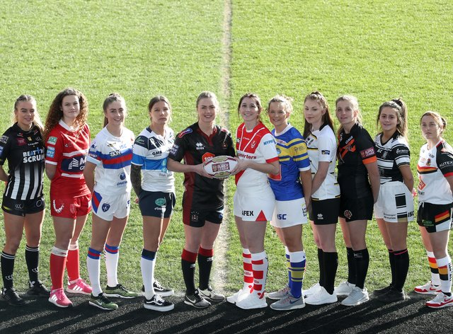 Ashleigh Hyde (second right) returned to playing just seven weeks after having a baby