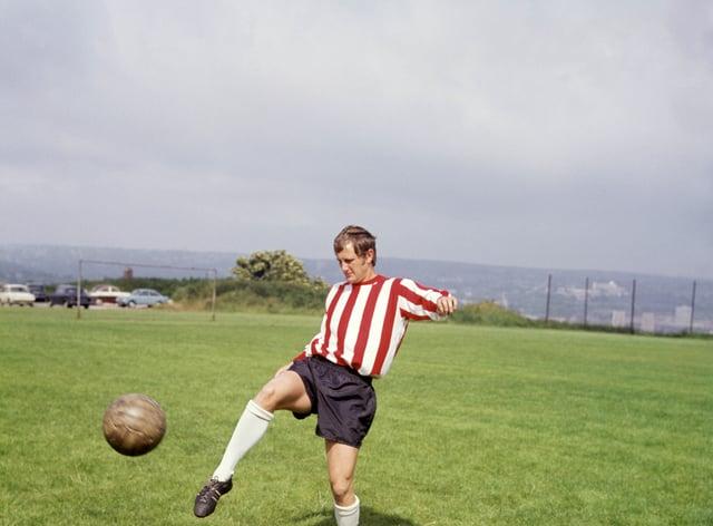 Former Sheffield United captain Len Badger