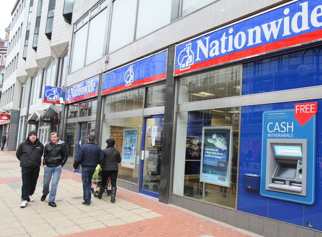 A Nationwide Building Society branch