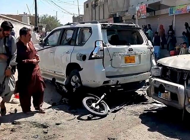 Bomb in Chaman, Pakistan