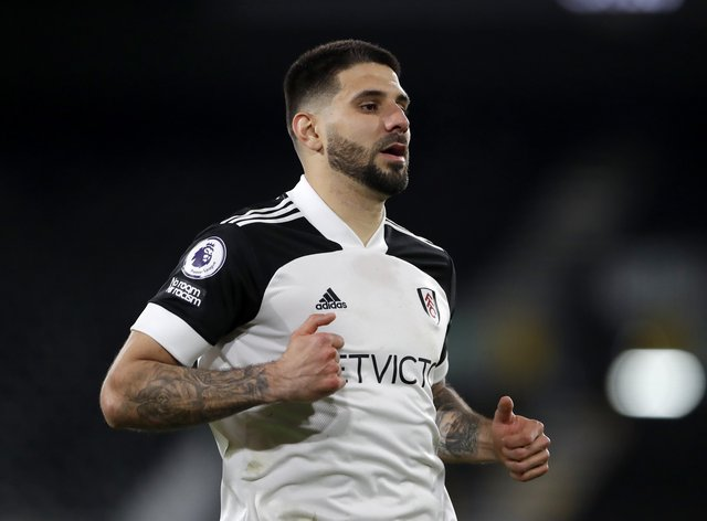 Fulham's Aleksandar Mitrovic has been ruled out of a meeting against his former club Newcastle on Sunday