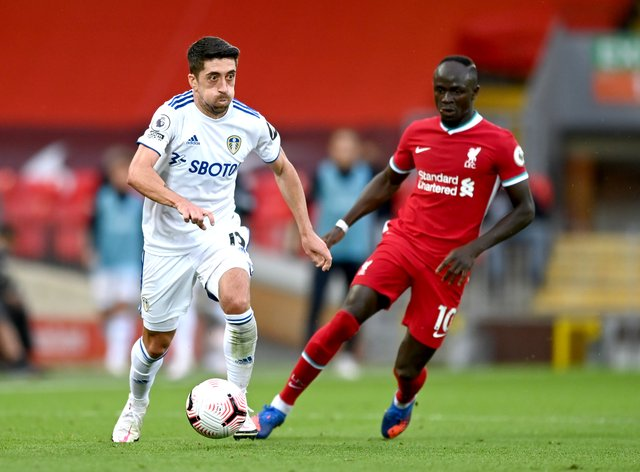 Pablo Hernandez, left, will leave Elland Road at the end of the season