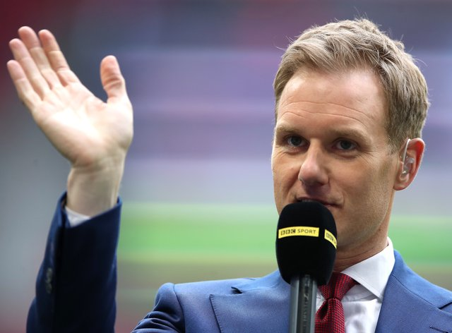 BBC presenter Dan Walker