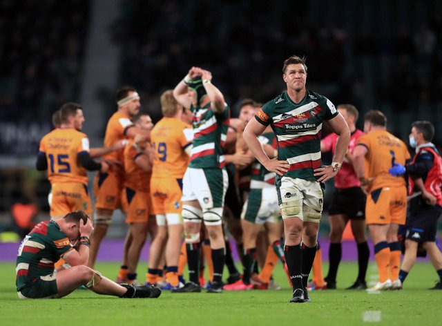 Leicester Tigers could not build on a lead to win the European Challenge Cup Final