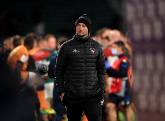Leicester Tigers head coach Steve Borthwick watched his team go narrowly close to European Challenge Cup Final success