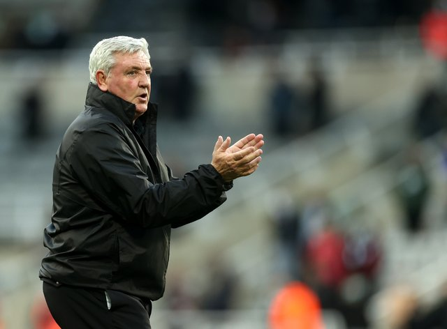 Newcastle heed coach Steve Bruce is targeting a winning end to a difficult season